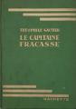 Couverture Le capitaine Fracasse Editions Hachette (Bibliothèque Verte) 1934