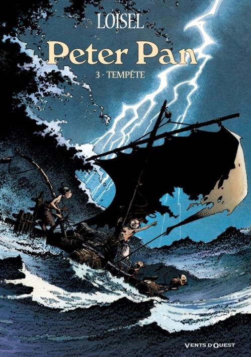 Couverture Peter Pan, tome 3 : Tempête