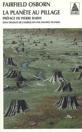 Couverture La planète au pillage