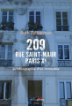 Couverture 209 rue Saint-Maur, Paris Xe Autobiographie d'un immeuble Editions Seuil (Histoire) 2020