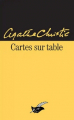 Couverture Cartes sur table Editions Le Masque 2015