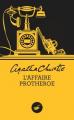 Couverture L'Affaire Protheroe Editions Le Masque 2015