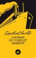 Couverture L'Homme au complet marron Editions Le Masque 2013
