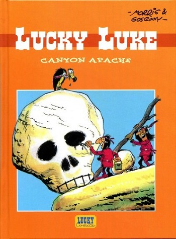 Couverture Lucky Luke, tome 37 : Canyon Apache