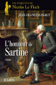 Couverture L'honneur de Sartine Editions JC Lattès 2010