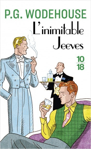Couverture L'inimitable Jeeves