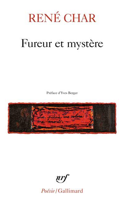 Couverture Fureur et mystère