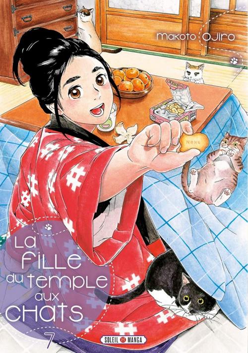 Couverture La fille du temple aux chats, tome 7