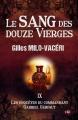 Couverture Le sang des douze vierges. Editions du 38 (38 rue du polar) 2020