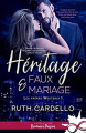 Couverture Les frères Westerly, tome 1 : Héritage et faux-mariage Editions Infinity (Romance passion) 2020