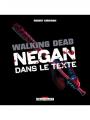 Couverture Walking Dead : Negan dans le texte Editions Delcourt 2019