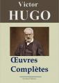 Couverture Victor Hugo: Oeuvres complètes - 122 titres (Annotés et illustrés) Editions Arvensa 2013