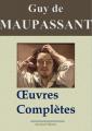 Couverture Maupassant : Oeuvres complètes - 67 titres (Annotés et illustrés) Editions Amazon 2013
