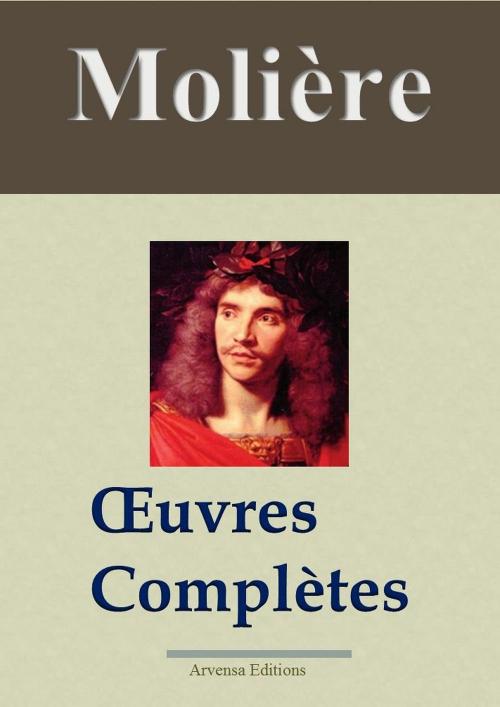 Couverture Molière : Oeuvres complètes et annexes