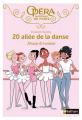 Couverture 20, allée de la danse, tome 02 : Amies et rivales Editions Nathan 2016