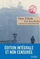 Couverture Seul dans Berlin Editions Denoël (& d'ailleurs) 2014