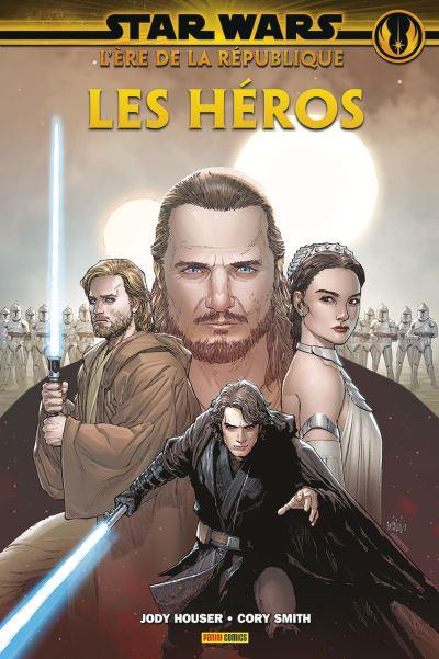 Couverture Star Wars - L'ère de la République : les héros