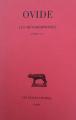 Couverture Les métamorphoses Editions Les belles lettres (Collection des universités de France - Série latine) 2017