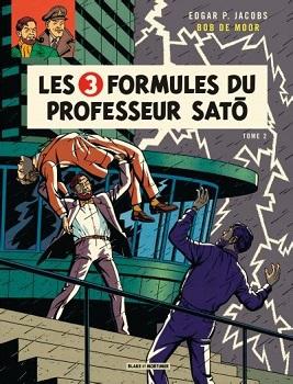 Couverture Blake et Mortimer, tome 11 : Les 3 Formules du Professeur Satô, partie 1 : Mortimer à Tokyo