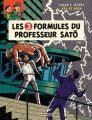 Couverture Blake et Mortimer, tome 11 : Les 3 Formules du Professeur Satô, partie 1 : Mortimer à Tokyo Editions Blake et Mortimer 2018