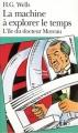 Couverture La machine à explorer le temps, L'île du Docteur Moreau Editions Folio  1975