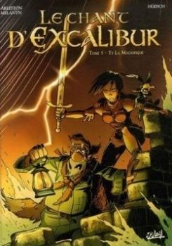 Couverture Le Chant d'Excalibur, tome 5 : Ys La Magnifique
