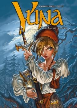 Couverture Yuna, tome 1 : La Prophétie de Winog