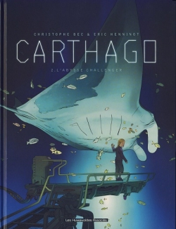 Couverture Carthago, tome 2 : L'Abysse Challenger
