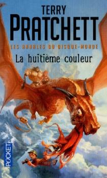 Couverture Les Annales du Disque-Monde, tome 01 : La Huitième Couleur