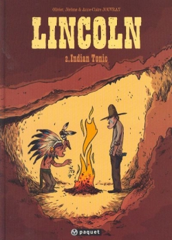 Couverture Lincoln, tome 2 : Indian tonic