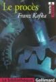 Couverture Le procès Editions Gallimard  (La bibliothèque) 2004