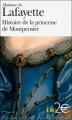 Couverture Histoire de la princesse de Montpensier Editions Folio  (2 € - Femmes de lettres) 2009