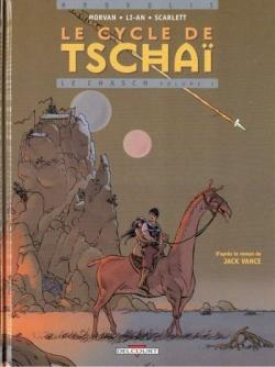 Couverture Le cycle de Tschaï (BD), tome 1 : Le chasch, partie 1