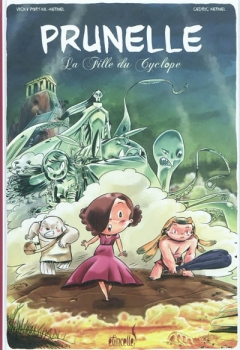 Couverture Prunelle, tome 1 : La Fille du Cyclope