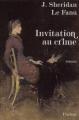 Couverture Invitation au crime Editions Phebus 2003