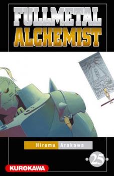 Couverture Fullmetal Alchemist, tome 25