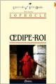 Couverture Oedipe roi Editions Bordas (Univers des lettres) 1988