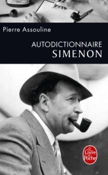 Couverture Autodictionnaire Simenon