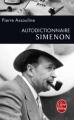 Couverture Autodictionnaire Simenon Editions Le Livre de Poche 2011
