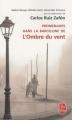 Couverture Promenades dans la Barcelone de L'Ombre du vent Editions Le Livre de Poche 2009