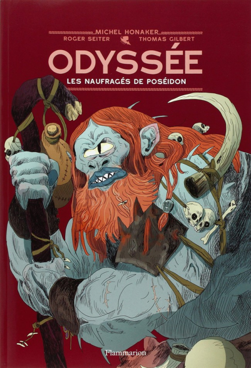 Couverture Odyssée (BD) tome 2 : les Naufragés De Poseidon