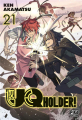Couverture UQ Holder !, tome 21 Editions Pika 2020