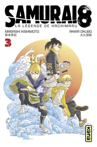 Couverture Samurai 8 : La légende de Hachimaruden, tome 3