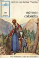 Couverture Colomba Editions Bordas (Univers des lettres) 1971