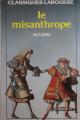 Couverture Le misanthrope / Le misanthrope ou l'atrabilaire amoureux Editions Larousse (Classiques) 1971
