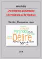 Couverture Du sentiment paranoïaque à l'avènement de la psychose Editions Librinova 2020