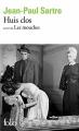 Couverture Huis clos suivi de Les mouches Editions Folio  2017