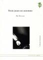 Couverture Trois jours en automne Editions L'atelier des cahiers 2011