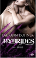 Couverture Hybrides, Tome 10 : Lune Editions Milady 2020