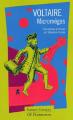 Couverture Micromégas Editions Flammarion (GF - Etonnants classiques) 2001